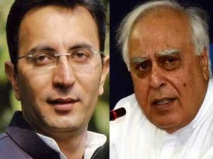 jitin prasada hits back at kapil sibal asks what about alliance with shiv sena maharashtra | शिवसेनेसोबत आघाडी करताना काँग्रेसची कोणती विचारधारा होती?; प्रसाद यांचा सिब्बल यांच्यावर पलटवार
