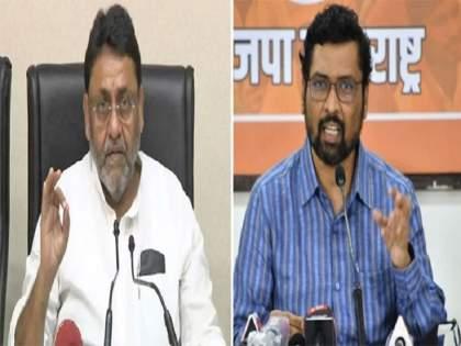 "BJP Leader Keshav Upadhye slam to NCP leader Nawab Malik and Maha Vikas Aghadi Government Over tweets against Devendra Fadnavis   ""माशा मारण्याची स्पर्धा तर....; सत्ताधारी घरात लपून आहेत"", भाजपा नेत्याची टीका"