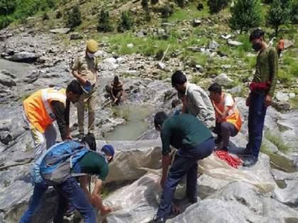 Jammu-Kashmir: 4 killed, 30 to 40 missing in cloudburst in kishwad area | Jammu-Kashmir: ढगफुटी होऊन 4 जणांचा मृत्यू तर 30 ते 40 बेपत्ता