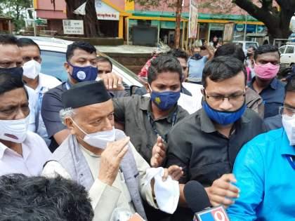 Unfortunately for Chiplun due to heavy rains, government help should be given immediately: Koshyari   अतिवृष्टीमुळे चिपळूणवर दुर्दैवी वेळ, तातडीने शासकीय मदत द्यावी :कोश्यारी