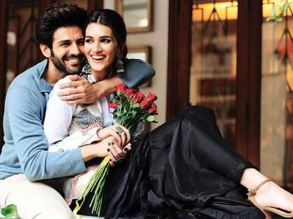 Karthik Aryan will once again be seen in the movie 'Shahzada' with Kriti Sanon   कार्तिक आर्यन पुन्हा एकदा क्रिती सनॉनसोबत 'शहजादा' चित्रपटात दिसणार रोमांस करताना