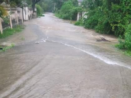 Lonavala receives record 390 mm of rain in 24 hours on Wednesday Water everywhere | लोणावळ्यात बुधवारी २४ तासांत विक्रमी ३९० मिमी पाऊस; सर्वत्र पाणीच पाणी