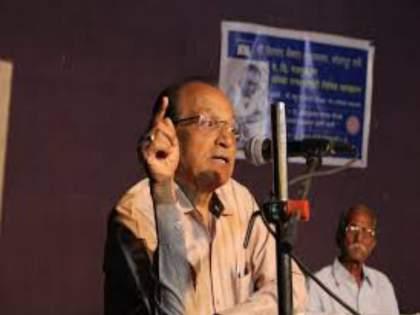 Famous biographer Madhu Potdar (age 72) died at a private hospital   मराठी साहित्यिक आणि चित्रपट समीक्षक मधू पोतदार यांचे पुण्यात निधन