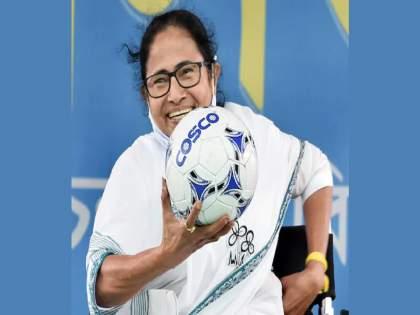 West Bengal Mamata Banerjee government khela hobe scheme launch free football to clubs election slogan | West Bengal : निवडणुका संपल्यानंतरही ममता बॅनर्जी यांची नवी 'खेळी'; 'खेला होबे' स्कीम सुरू