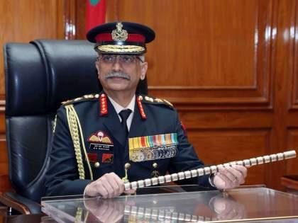 Army Chief Narwane on a three-day visit to Nepal | लष्करप्रमुख नरवणे तीन दिवसांच्या नेपाळ दौऱ्यावर