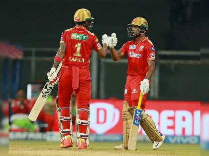 IPL 2021 DC vs PBKS Live T20 Score: KL Rahul & M. Agarwal registered highest opening partnership vs DC in IPL, PBKS 4-195 | IPL 2021, DC vs PBKS T20 Live : लोकेश-मयांकनं दिल्लीला सॉलिड धुतले, पण पंजाबच्या अन्य फलंदाजांनी निराश केले