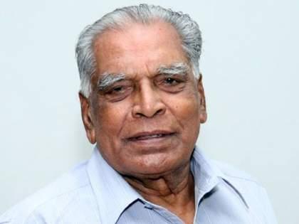 Senior leader N D Patil defeated corona at the age of 92 year, but...   एन डी सरांची प्रकृती उत्तम; 92 व्या वर्षी कोरोनाला हरविले