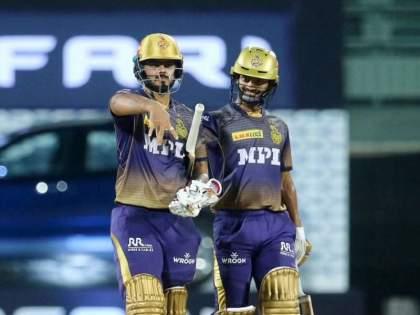 IPL 2021 How a Punjabi song prompted Nitish Rana to develop a new celebration   IPL 2021: नितीश राणाच्या 'त्या' सेलिब्रेशनमागे दडलंय एक खास गाणं; हरभजननं रहस्य उलगडलं!