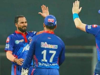 IPL 2021 lukman meriwala inspiring cricket journey delhi capitals   IPL 2021: ९वी नंतर शाळा सोडली, १४ व्या वर्षी क्रिकेट सोडलं, वेल्डिंगचं काम केलं; आता पुनरागमन करत केला धमाका!