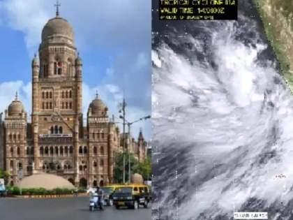 Mumbaikars dont go out of the house as Cyclone Tauktae will blow at a speed of 60 km per hour   Cyclone Tauktae: मुंबईकरांनो घराबाहेर पडू नका!तौत्केचक्रीवादळामुळे ताशी ६० किमी वेगाने वाहणार वारे; पालिकेचं आवाहन