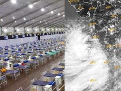 Cyclone Tauktae bmc transfer 580 COVID patients from jumbo centres to other hospitals in safe places as a precautionary measure | Cyclone Tauktae: तौत्के चक्रीवादळाचा धोका! दहिसर, बीकेसी, मुलुंड जम्बो कोविड केंद्रातील ५८० रुग्णांचे स्थलांतर
