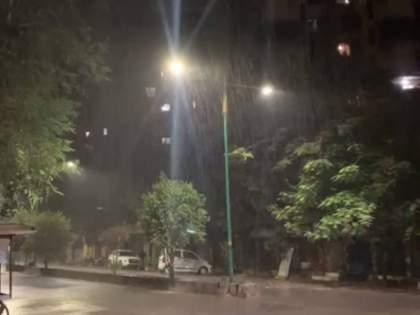 Cyclone Tauktae Heavy Windy with Light Rainfall in Mumbai Thane Ambernath Badlapur Navi Mumbai | Cyclone Tauktae: तौत्के चक्रीवादळाची चाहूल! मुंबईसह ठाणे, अंबरनाथ, बदलापूर, नवी मुंबईत सोसाट्याचा वारा अन् जोरदार पाऊस