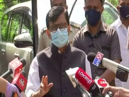 Chief Minister Thackeray and shiv sena is with Pratap Sarnaik says Sanjay Raut | आम्ही वाघाच्या काळजाचे, मुख्यमंत्री ठाकरे प्रताप सरनाईकांच्या पाठिशी; संजय राऊतांनी विरोधकांना ठणकावलं