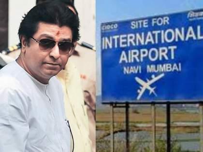 Navi Mumbai airport naming controversy bjp mla prashant thakur meet Raj Thackeray   Navi Mumbai Airport: मोठी बातमी! नवी मुंबई विमानतळ नामकरण वाद आता राज ठाकरेंच्या कोर्टात, भाजप आमदार 'कृष्णकुंज'वर