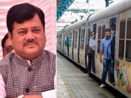 Citizens who taken both doses of corona vaccine should be allowed to travel by train demanded Praveen Darekar | Mumbai Local: 'लसीचे दोन्ही डोस घेतलेल्यांना लोकल प्रवासाची परवानगी द्या, नाहीतर...', प्रवीण दरेकरांचा रोखठोक इशारा
