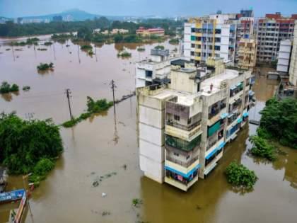 thousands of people trapped after heavy rain in chipulan   चिपळूणवर तिहेरी संकट; मदतीसाठी पूरग्रस्तांचा टाहो; यंत्रणेच्या उदासीनतेमुळे हजारोंचा जीव टांगणीला