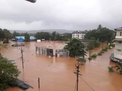Maharashtra Rain Updates heavy rainfall prediction for raigad ratnagiri pune satara kolhapur | Maharashtra Rain Updates: धोक्याचा इशारा! राज्यातील पूरग्रस्त भागावर आणखी एक मोठं संकट; अडचणीत भर