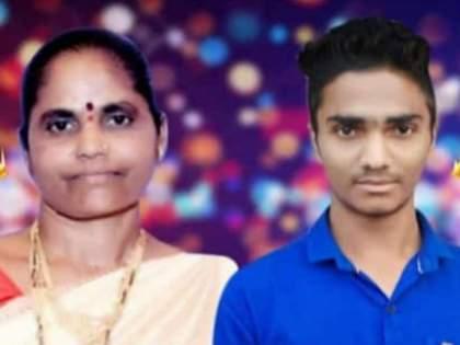 mother son died in road accident in bhiwandi | गणपती दर्शन करूनपरतणाऱ्या माय-लेकराचा अपघातीमृत्यू; गावावर शोककळा