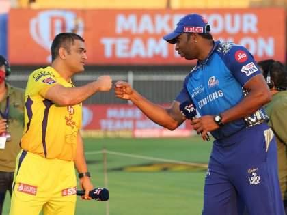 IPL 2021 MI vs CSK Live Rohit sharma not playing first match Pollard captain chennai wins toss select batting   IPL 2021, MI vs CSK Live: मोठी बातमी! रोहित नव्हे, पोलार्डकडे मुंबईचं कर्णधारपद; हार्दिक पंड्याही बाहेर; चेन्नईची फलंदाजी