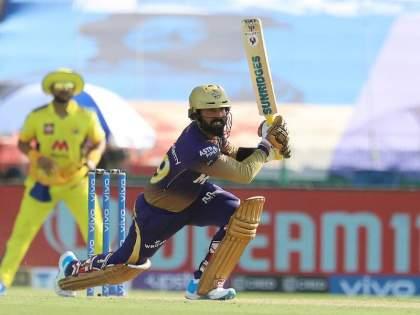 IPL 2021 CSK vs KKR Live kolkata knight riders sets 172 run target against chennai super kings   IPL 2021, CSK vs KKR, Live: कोलकाताच्या राहुल, राणाची 'रंगत' अन् कार्तिकचा 'कारनामा'; चेन्नईसमोर १७२ धावांचं लक्ष्य!