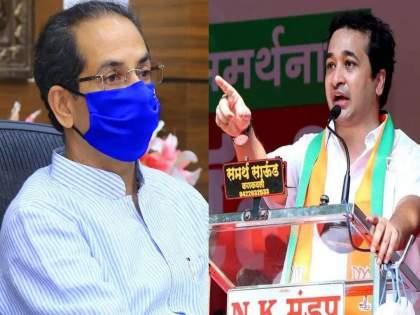 "bjp nitesh rane criticises uddhav thackeray over pradeep sharma nia raid   ""उद्धव ठाकरे या सगळ्यांचे गॉडफादर!""; नितेश राणेंचा गंभीर आरोप"