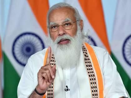 pm narendra modi lashes out congress, says oldest party is not letting parliament function properly   'सर्वात जुना पक्ष संसदेचं कामकाज सुरळीत चालू देत नाही'; मोदींचा काँग्रेसवर निशाणा