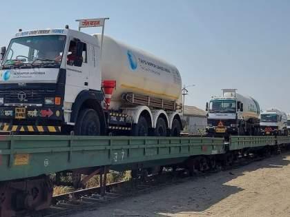 Attempts to transport Nagpurs oxygen tankers to Gujarat thwarted | CoronaVirus News: मोठी बातमी! नागपूरचे ऑक्सिजन टँकर्स गुजरातला नेण्याचा प्रयत्न उधळला