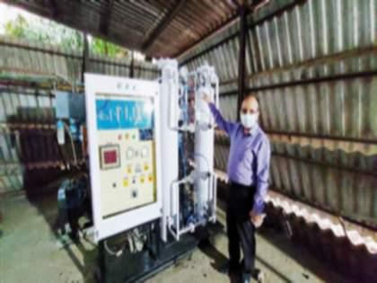 Oxygen generating machine manufactured by Ordnance Factory, Ambernath   अंबरनाथच्या ऑर्डनन्स फॅक्टरीने तयार केली ऑक्सिजननिर्मिती मशीन
