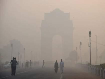 Field fires in Haryana, Punjab, Uttar Pradesh and Madhya Pradesh have increased pollution in New Delhi   हरयाणा, पंजाब, उत्तर प्रदेश, मध्य प्रदेशात शेतामध्ये लावलेल्या आगींमुळे नवी दिल्लीत प्रदूषण वाढले