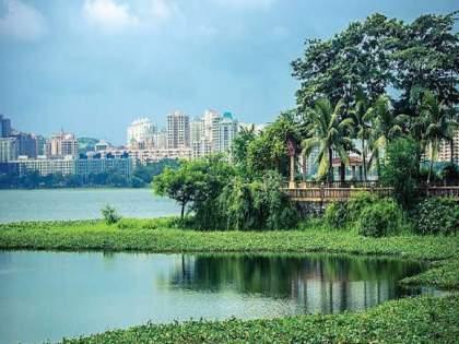 Mumbai Powai Lake overflow 24 days before compared to last year water used for industrial purpose   मुंबई : २४ दिवस आधीच भरून वाहू लागला पवई तलाव