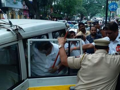 'Brahminists bombed, Muslims hanged' book publication in pune | VIDEO: 'ब्राह्मणवाद्यांनी स्फोट केले, मुस्लीम लटकले' पुस्तक प्रकाशन; बालगंधर्वला पोलिसांचा मोठा बंदोबस्त