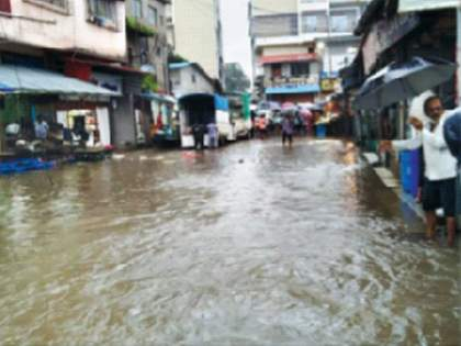 heavy rains in Konkan and rivers in raigad flooded and red alert for torrential rains even today   कोकणात अतिवृष्टी! रायगडमधील तीन नद्यांना पूर, आजही मुसळधार पावसाचा रेड अलर्ट