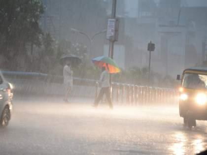 On the pre-monsoon Mumbai, the rains were somewhat sluggish   मान्सूनमुळे गारद झालेली मुंबई पूर्वपदावर, पाऊस काहीसा आळसावला