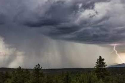 Warning of heavy rain again, the weather changed   पुन्हा वादळी पावसाचा इशारा , वातावरण बदलले