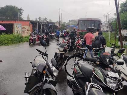 warning of heavy rain even today raigad palghar orange alert | रायगड, पालघरला ऑरेंज अलर्ट; आजही जोरदार पावसाचा इशारा