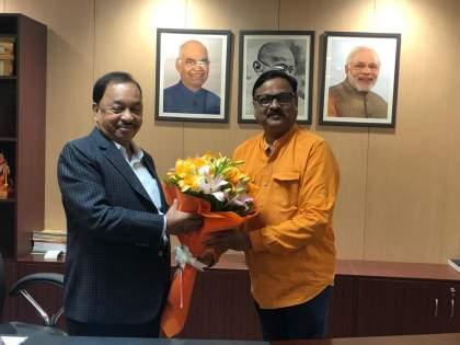 Narayan Rane's Union Ministerial post is an honor for Maharashtra: Atul Kalsekar   नारायण राणेंचे केंद्रीय मंत्रीपद हा महाराष्ट्राचा सन्मान : अतुल काळसेकर