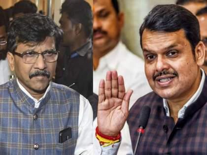 Shiv Sena MP Sanjay Raut says Leader of Opposition Devendra Fadnavis should lead Maratha reservation delegation   Maratha Reservation: फडणवीसांनी आमच्यासोबत यावं अन् मराठा आरक्षणाच्या शिष्टमंडळाचं नेतृत्व करावं- राऊत