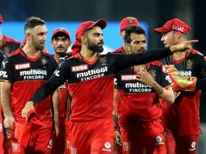 RCB's 'hat trick' of victory against kolkata   आरसीबीच्या विजयाची 'हॅटट्रिक'