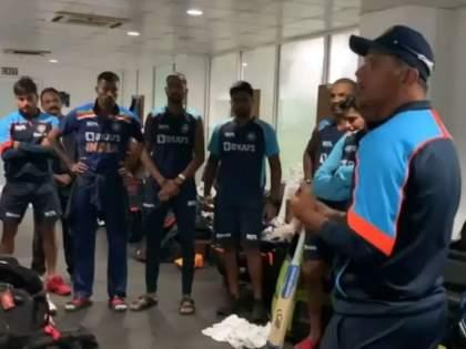 coach rahul dravid says you won like a champion   तुम्ही चॅम्पियनप्रमाणे बाजी पलटवली; प्रशिक्षक राहुल द्रविड यांनी खेळाडूंना दिली शाबासकी