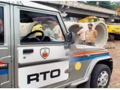 The RTO is now looking at oxygen tankers leaving the state | राज्यातून बाहेर जाणाऱ्या ऑक्सिजन टँकरवर आता आरटीओची नजर
