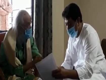 Raj Thackeray, who used to say 'I don't wear a mask', finally put on a mask ... | 'मी मास्क घालतच नाही', असे म्हणणाऱ्या राज ठाकरेंनी अखेर मास्क घातलाच...