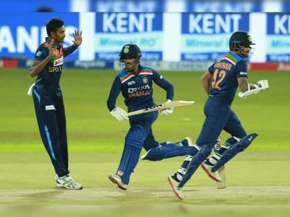 India vs SL 2nd T20I live : India post 132/5 (Dhawan 40, Padikkal 29) against Sri Lanka (Dananjaya 2/29) in Colombo   IND Vs SL 2nd T20I Live : शिखर धवननं जबाबदारी सांभाळली, पण त्याला साथ नाही मिळाली; श्रीलंकेच्या गोलंदाजांची भारी कामगिरी