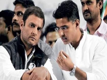 Rajasthan Political Crisis: Sachin Pilot's group is demanding a change in the leadership of Ashok Gehlot | Rajasthan Political Crisis: ...तर आम्ही पुन्हा पक्षात येऊ; सचिन पायलट यांच्या समर्थकांनी केली मोठी मागणी