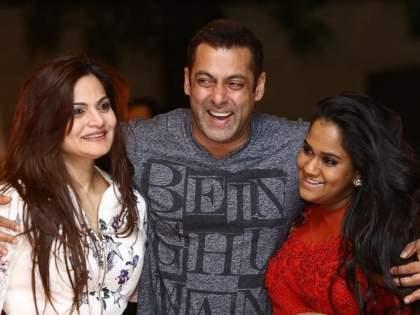 Salman Khan's sister Alvira and Arpita infected with corona, the actor revealed | सलमान खानच्या लाडक्या बहिणींना कोरोनाची लागण, अभिनेत्याने केला खुलासा