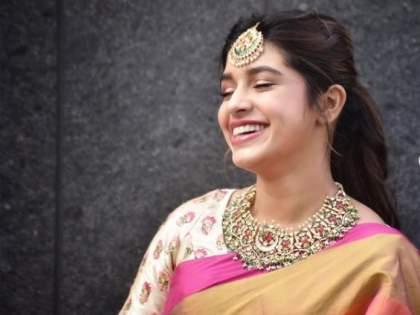 Sanskruti Balgude's stunning saree look, SEE PHOTO | संस्कृती बालगुडेचं सोज्वळ सौंदर्यही करेल तुम्हाला घायाळ, SEE PHOTO