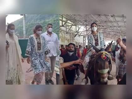 shilpa shetty vaishno devi for raj kundra released from jail   पॉर्नोग्राफी प्रकरण : राज कुंद्रासाठी शिल्पाचं वैष्णो देवीला साकडं