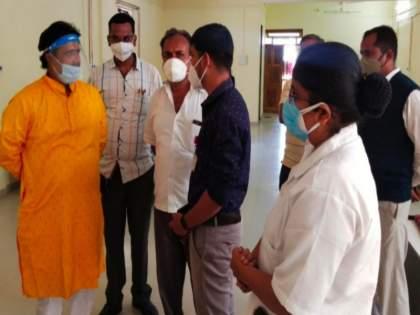 In Shirur, hospital beds are getting dusty, warning of indefinite fast if oxygen bed unit is not started   शिरूरमध्ये रुग्णालयातील बेड धूळ खात पडून, ऑक्सिजन बेडचे युनिट सुरू न केल्यास भाजपचा बेमुदत उपोषणचा इशारा