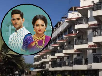 After Goa, a series of 'What exactly is happiness' is being shot in this state, a video of the new set has come out | गोव्यानंतर 'सुख म्हणजे नक्की काय असतं' मालिकेचं शूटिंग होतंय या राज्यात, नव्या सेटचा व्हिडीओ आला समोर