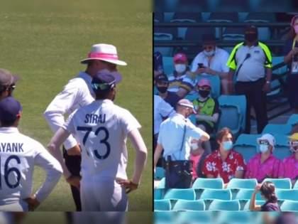 India vs Australia, 3rd Test : Mohammed Siraj allegedly referred to as 'Brown Dog' by Australian fans at SCG, Video Viral | India vs Australia, 3rd Test : ऑसी फॅन्सच्या वर्णद्वेषी शेरेबाजीचा Video Viral; त्यांची टीका ऐकून येईल प्रचंड राग