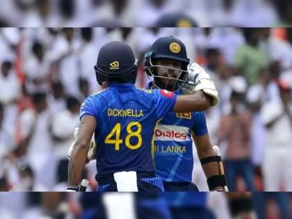 Sri Lanka Cricket have banned Danushka Gunathilaka, Kusal Mendis & Niroshan Dickwella for one year from all forms of international cricket    श्रीलंकेच्या तीन खेळाडूंवर एका वर्षांची आंतरराष्ट्रीय क्रिकेट बंदी; प्रत्येकी ३७ लाख २९ हजारांचा दंड!